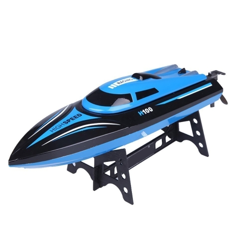 Rc Boat,KingPow Tempo H100 2.4G 4CH Remote Control Boat With High Speed(Only Work In The Water)