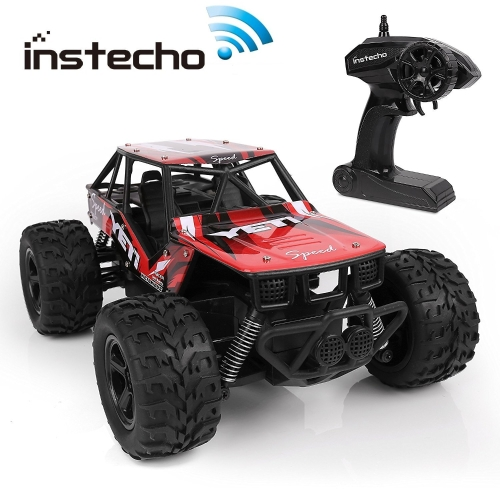 RC Cars for Kids, Remote Control Cars Rock Crawel Off-Road 1:20 Scale 2.4Ghz 2WD Powerful High Speed Monster Truck Race Buggy Hobby Car, Toys for Kids and Adults
