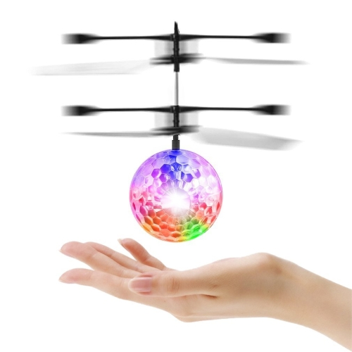 LESHP RC Toy, RC Flying Ball, RC infrarossi a induzione per elicottero Ball Built-in Shinning Illuminazione a LED per bambini, adolescenti Colorful Flyings per Kid's Toy