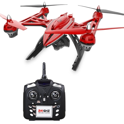 Holy Stone HS400 Large Quadcopter FPV Drone con videocamera HD regolabile 720P 2.4 GHz 6-Axis giroscopio, Altitude hold, One Key Return e modalità Headless Include Bonus Battery