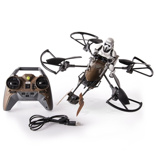 Air Hogs - Drone Star Wars Speeder Bike telecomandato