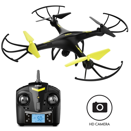 Drone U45 HD con fotocamera da 4 GB Micro SD Card per Altitude Hold 1-Button Decollo e Land Quadcopter