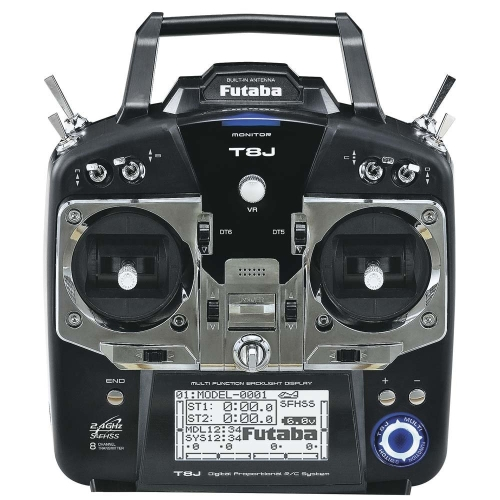 Trasmettitore radio FM 8 canali S-FHSS a 8 canali Futaba 8 canali con ricevitore R2008SB