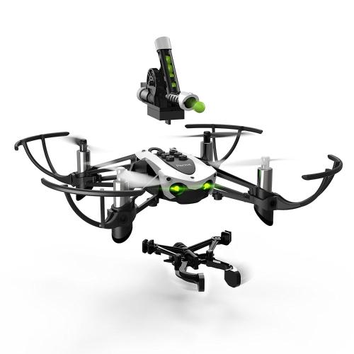 Parrot Minidrone Mambo con accessori Cannon e Grabber (ricondizionati certificati)