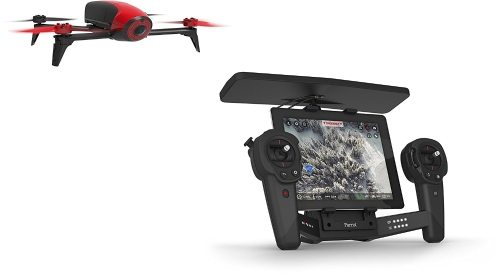 Parrot Bebop 2 + Black Skycontroller (rosso)