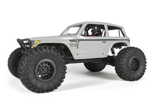 Axial Wraith Spawn 4WD RC Rock Racer 4x4 fuoristrada elettrico pronto a correre con radio a 2,4 GHz e ESC impermeabile, scala 1/10 RTR