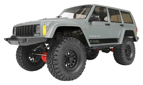 Axial SCX10 II Jeep Cherokee 4WD RC Rock Crawler Off-Road 4x4 Elettrico Ready to Run con radio a 2,4 GHz e ESC impermeabile, 1/10 Scala RTR