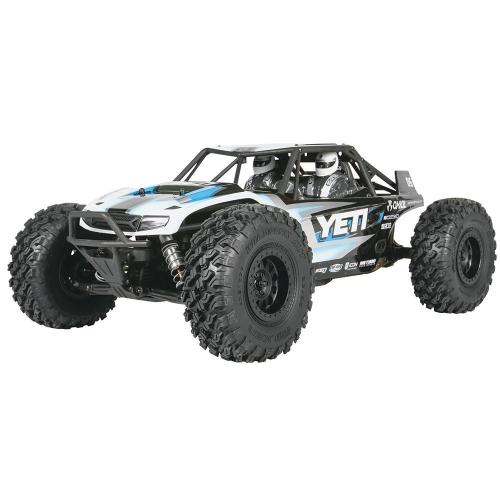 Axial Yeti 4WD RC Rock Racer Unassemblato 4x4 fuoristrada elettrico, 1/10 Kit scala