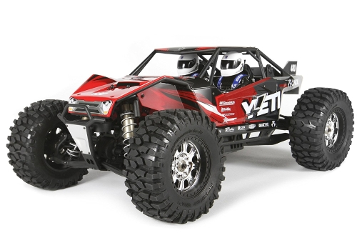 Axial Yeti XL 4WD RC Rock Racer Monster Buggy Off-Road 4x4 Elettrico Ready to Run con radio a 2,4 GHz e ESC impermeabile, scala 1/8 RTR