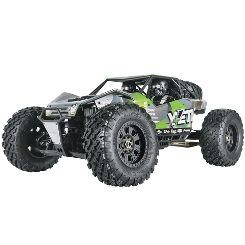 Axial Yeti XL 4WD RC Rock Racer Monster Buggy Non montato 4x4 cingolato elettrico, 1/8 Kit scala