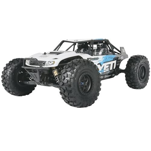Axial Yeti 4WD RC Rock Racer 4x4 fuoristrada elettrico pronto a correre con radio a 2,4 GHz e ESC impermeabile, scala 1/10 RTR