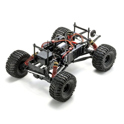 kyosho mad crusher ve 4wd brushless powered rc truck, blue, 1: 8-scale