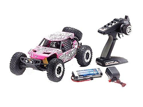 Kyosho AXXE Deserto elettrico / fuoristrada RC Buggy (scala 1:10), rosa
