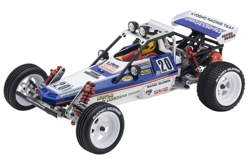 Kit Kyosho Turbo Scorpion Vintage Series 1: 10 scala
