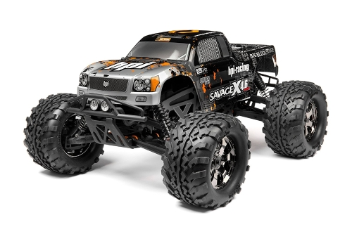 HPI Racing 109083 RTR Savage X 4.6 2.4Ghz RTR Truck, scala 1/8