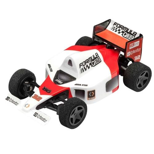 HPI 116710 Q32 Formula 1 Rtr Electric RC Car con trasmettitore radio 2,4 GHz, rosso, scala 1:32