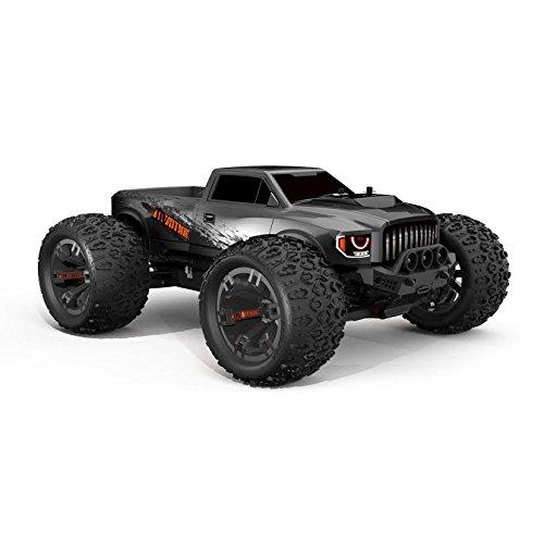 Team Redcat TR-MT10E Monster Truck per controllo remoto in scala 1/10, Gun Metal