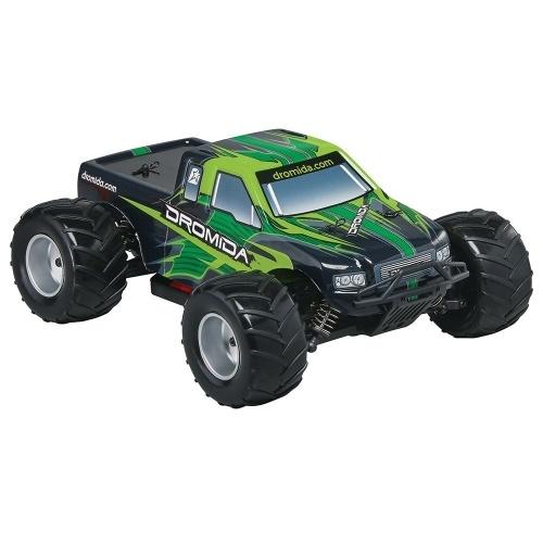 Dromida Skala 1:18 Pilot zdalnego sterowania RTR Samochód z napędem elektrycznym: 4WD MT Monster Truck z radiem 2,4 GHz, 7,2 V 6C 1300 mAh akumulator NiMH, 4 baterie AA i ładowarka