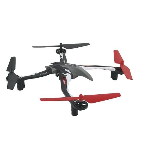 Dromida Ominus Беспилотный летательный аппарат (БПЛА) Quadcopter Ready-to-Fly (RTF) Drone с радиосистемой, аккумуляторами и зарядным устройством USB (красный)