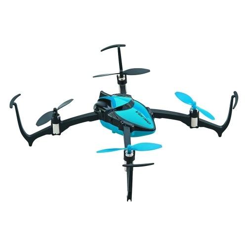 Dromida Verso Ready-to-Fly Radio Controlled Electric Inversion Drone z systemem radiowym, baterie i ładowarka (niebieski)