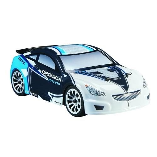 Dromida Skala 1:18 Pilot zdalnego sterowania RCR Samochód: Bezszczotkowy elektryczny samochód terenowy TC z radiem 2,4 GHz, 7,2 V 6C 1300 mAh akumulator NiMH, 4 baterie AA i ładowarka