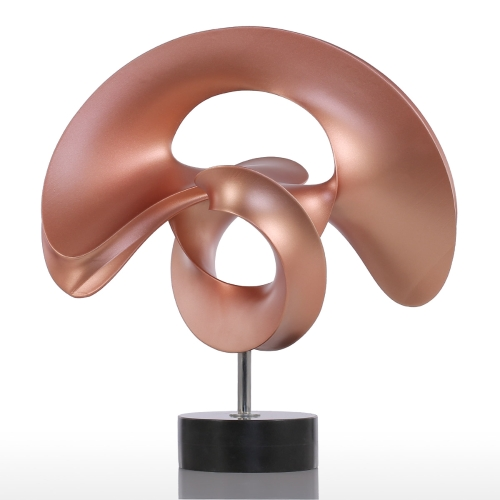 Tooarts Spring Small Size Modern Sculpture Abstract Sculpture Resin Sculpture