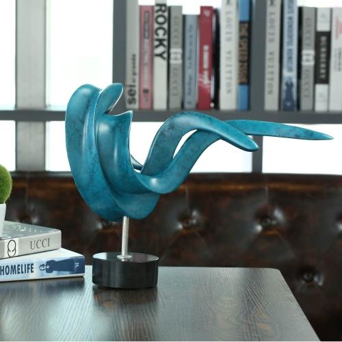Einstellung Haltung Kleine Größe Moderne Skulptur Abstrakt Skulptur Resin Skulptur