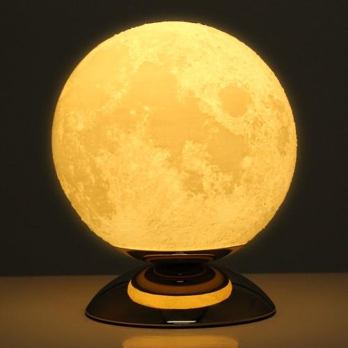 Moon Lamp 3D Printed Lamp US Plug AC110-250V 50/60Hz
