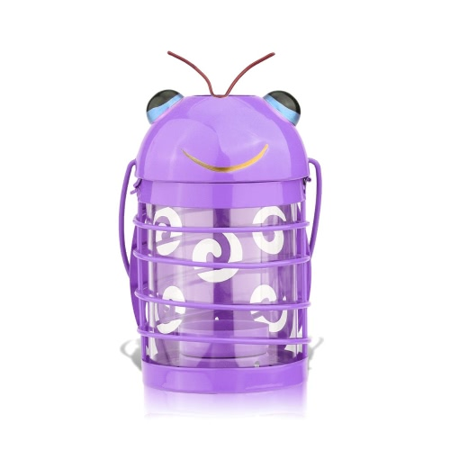 Tooarts beetle candle holder(purple) Hurricane lamp Practical ornament Creative ornament  Home Furnishing Articles