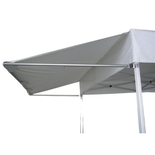 Extension soleil 4.5M pour tente pliante Pro Blanc