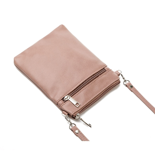 New Women PU Leather Shoulder Bag Cute Casual Crossbody Bags Girls Mini Bag Tote Mobile Phone Bag