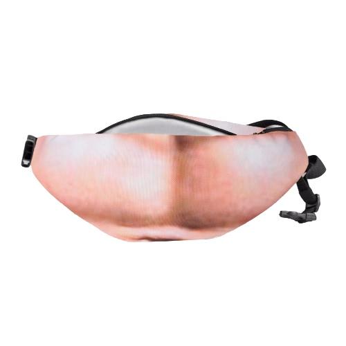 Сумка для унисекса Dadbag для талии Flesh Color Fanny Packs Денежный пояс Пивной жир Бусистый мешочек для кармана фото