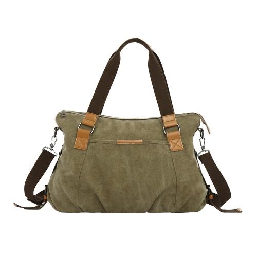 Neue Art und Weise Frauen-Segeltuch-Handtasche große Kapazitäts-beiläufiger Schulter-Umhängetasche Tasche Einkaufen Tote
