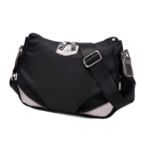 Las nuevas mujeres del bolso de Crossbody contraste a prueba de agua bolsa de mensajero del hombro del bolso al aire libre ocasional
