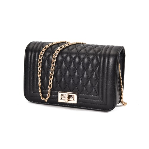 Classic Women Shoulder Bag Female Vintage Mini Flap Bag Small Chain Quilted Handbag Messenger Crossbody Bag Pink/Black/Beige
