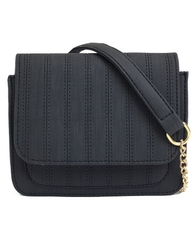 Mulheres Mini Crossbody Bag Cadeia PU Leather Flap Frontal Pequeno Casual Shoulder Bag Messenger Bag