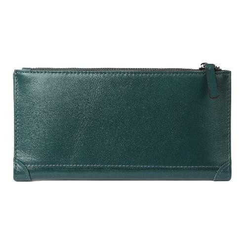 New Men Moda dinheiro Carteira Clipe alta qualidade do couro de Carteiras Titular Caixa de cartão de crédito Long Business