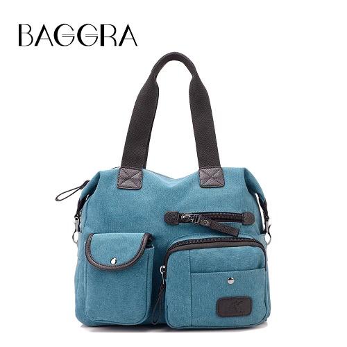 La bolsa de viaje bolso de las mujeres de la lona ocasional del hombro de capacidad grande del bolso de la vendimia de asas de Crossbody