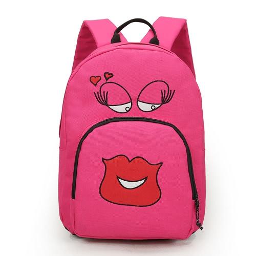 Nouveau mode femmes fille sac à dos Cute Cartoon étudiants impression solide sac sac à dos Sport