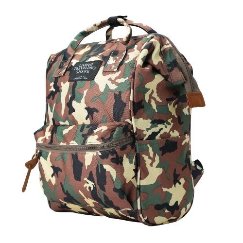 Neue Mode Unisex: Männer Frauen Rucksack große Kapazität Student Cool Canvas Schultasche Laptop Travel Bag Handtasche