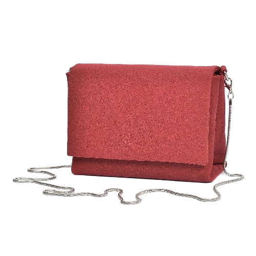 Bolso de hombro de ante de las mujeres Bolso cruzado de la cadena del bolso de Crossbody Suedtte de la bandolera informal de la mini bolsa de mensajero