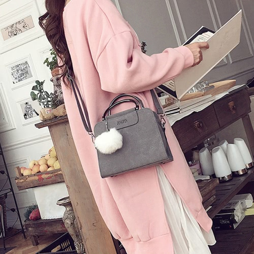 Women Fashion Accessory Lady PU Leather Shoulder Bag