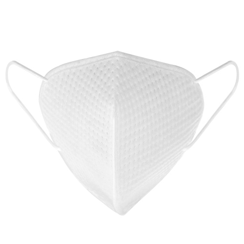 10pcs 3-Ply Disposable KN95 Mask Breathable Non-woven 95% Filtration N95 Sanitary Protective Face Mouth Masks for Dust Particles Virus Pollution Personal Health