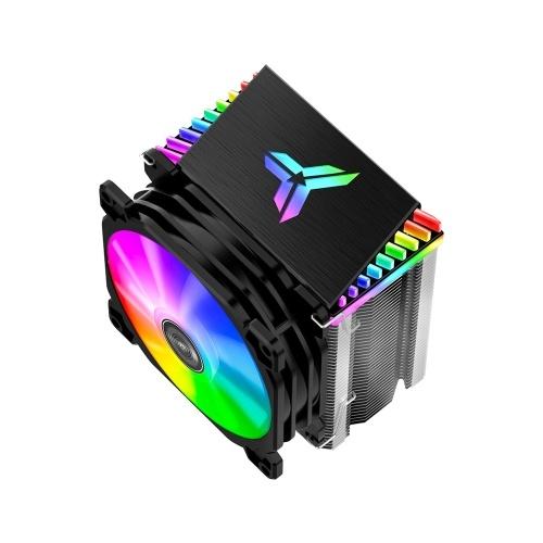 Jonsbo CR-1400 CPU Radiator Computer Tower CPU Cooler PWM 4Pin Fan 4 Heat Pipes 5V ARGB Tower CPU Cooling Fan
