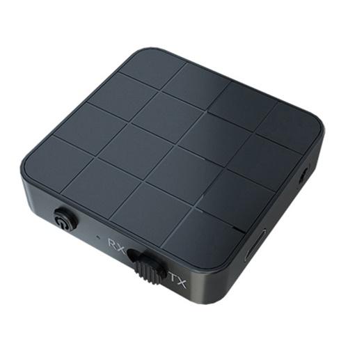 2 в 1 BT 5,0 аудио передатчик приемник адаптер портативный 2 в 1 беспроводной аудио адаптер режим RX / TX для ТВ автомобильный компьютер