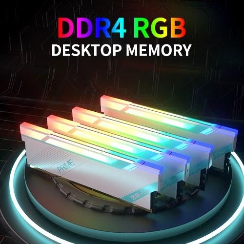 ASint DDR4 16GB 4000MHz RGB Desktop Memory Low Power Consumption Fast Heat Dissipation Support Intel XMP 2.0 Overclocking