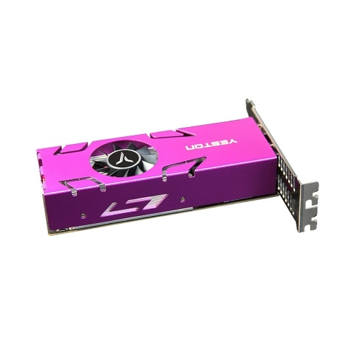 Yeston RX550-4G 4HD GA 4-screen Graphics Card 4GB/128bit/GDDR5 Memory Support Split Screen with 4*HD Output Ports
