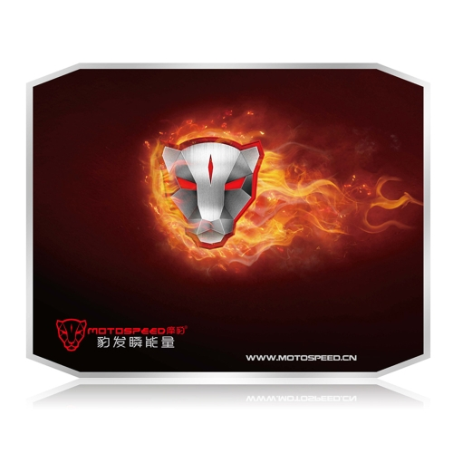 Motospeed P10 Gaming Aluminum Mouse Mat Pad Metal Two-sided Speed Version