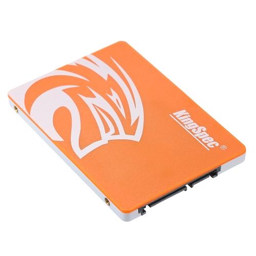"""KingSpec P120 SATA III 3.0 2.5 """"120GB MLC SSD Solid State Drive"""