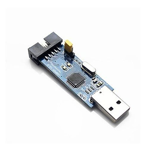USBASP USBISP Downloader Programmer für 51 AVR - blau + schwarz